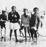 Children on the Beach at Coney Island