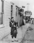 Bagpiper at Coney Island
