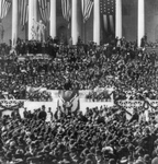 Roosevelt During Inaugural Address
