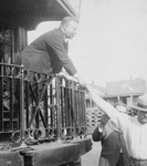Theodore Roosevelt Shaking Hands
