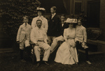 Edith Kermit Carow and Teddy Roosevelt With Children