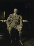 Theodore Roosevelt in His Library