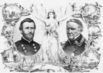 Ulysses S. Grant and Winfield Scott