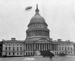 Airship Over US Capitol