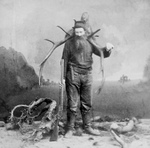Man With Killed Elk