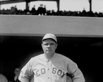 The Great Bambino of the Boston Red Sox