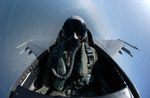 Pilot of an F-16 Fighting Falcon