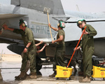 Washing Military Aircraft