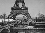 Eiffel Tower in 1900