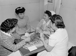 Nurses Playing a Game of Bridge