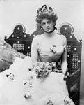 Ethel Barrymore in a Bridal Gown