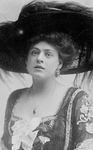 Ethel Barrymore in a Plumed Hat