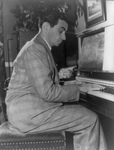 Irving Berlin Playing a Piano