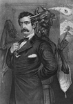 Satan Tempting John Wilkes Booth To Murder Lincoln
