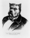 James Fisk Bulldog Caricature