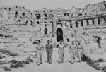 Military Officers at the Roman Coliseum