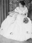 Virginia Gerson in a Ball Gown