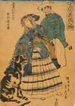 Woman in Japan With a Dog