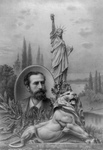 Lion, Statue of Liberty and Bartholdi