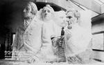 Model of Mount Rushmore