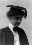 Helen Keller in Graduation Dress