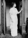 Helen Keller in a Doorway
