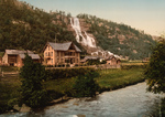 Tvindefos Waterfall and Hotel, Hardanger Fjord