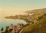 Coastal Village of Montreux and Clarens, Switzerland