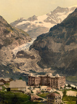 Bear Hotel and Eiger Glacier, Switzerland