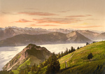 Rigi Scheidegg and Lake Lucerne, Rigi, Switzerland