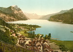 Wallenstadt Lake and Aliver Mountains, Switzerland