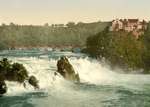 Rhine Falls and Laufen Castle, Switzerland