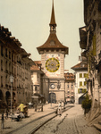 Street Scene in Berne Switzerland