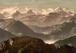 Bernese Alps in Switzerland