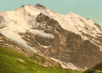 Scheidegg, Jungfrau and Silberhorn Mountains