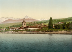 Evian Les Bains on Geneva Lake, Switzerland