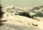 Leysin, Chaussy and the Ormont Valley in Winter