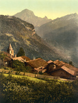 Village of Gryon, Switzerland