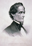 Jefferson Davis Facing Right