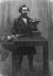 Charles Dickens During a Reading