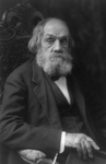 Edward Everett Hale Sitting in a Chair