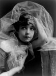 Lillian Gish With Chiffon