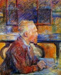 Picture of Vincent Van Gogh Seated at a Table