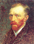 Picture of Vincent Van Gogh Self Portrait, 1887