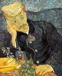 Picture of Van Gogh's Painting of Dr Paul-Ferdinand Gachet