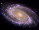 Photo of the M81 Galaxy, NGC 3031, Bode's Galaxy