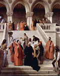 Photo of The Death of the Doge Marin Faliero, by Francesco Hayez