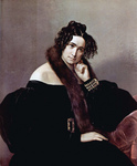 Photo of Felicina Caglio Perego di Cremnago by Francesco Hayez