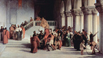 Photo of Vittor Pisani Being Released From the Dungeon by Francesco Hayez