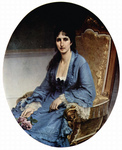 Photo of Antonietta Negroni Prati Morosini Seated in a Chair